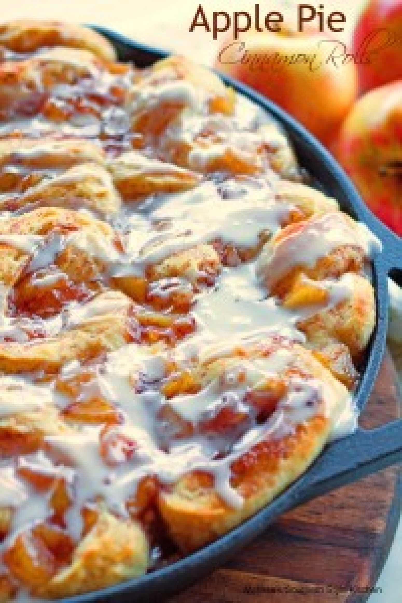 apple pie cinnamon rolls recipe 5 just a pinch recipes