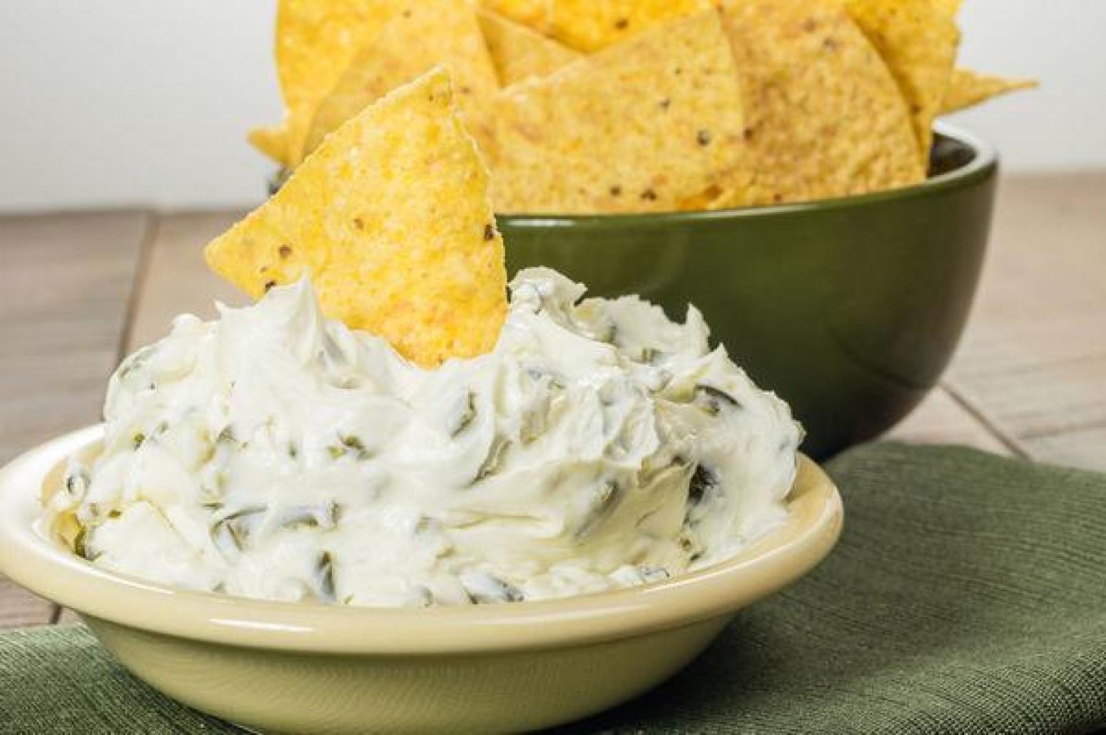 quick cream cheese chile dip recipe just a pinch recipes