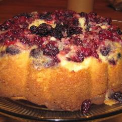 Shop World Kitchen Coupons Corner Cabinets For Vanilla Blackberry Cake Recipe | Just A Pinch Recipes