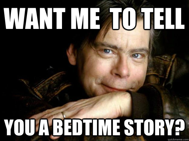 Image result for stephen king memes