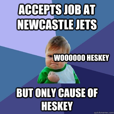 Freeadd a verified certificate for $29 usd receive an i. accepts job at newcastle jets but only cause of heskey ...