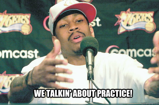 Image result for allen iverson practice gif