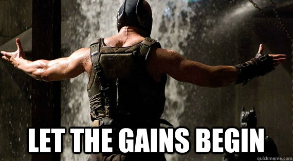 Image result for let the gains begin