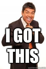 Image result for george lopez i got this