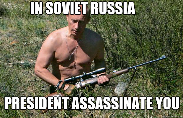 Image result for badass putin meme