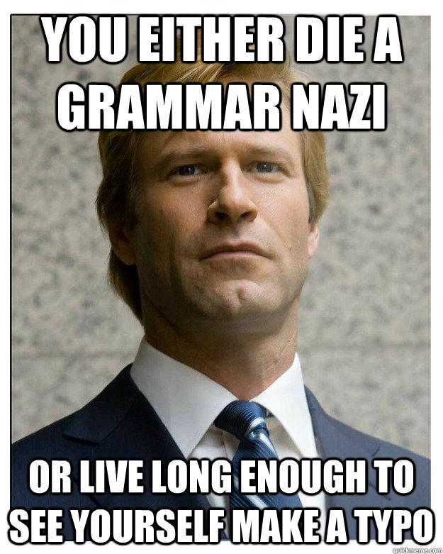 Image result for funny grammar nazi memes