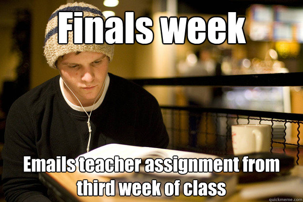 Image result for college finals memes