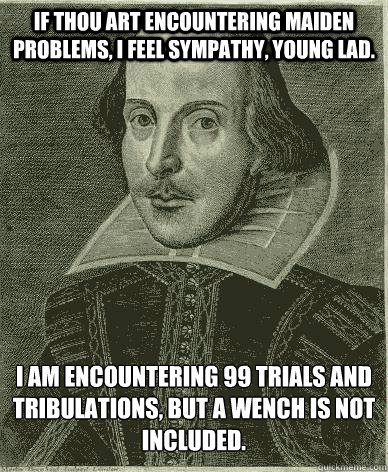 Image result for shakespeare to swag
