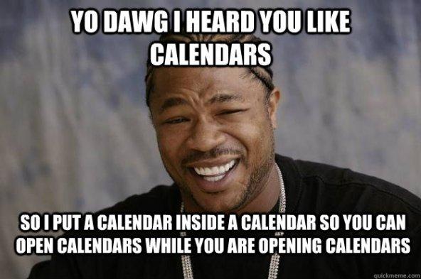 Image result for calendar funny memes