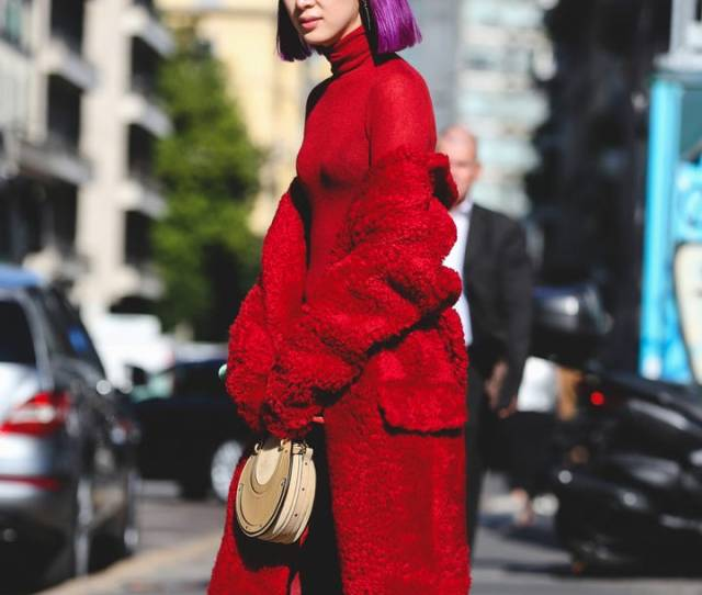 Some Trends Are Born On The Runway And Some Are Born On The Streets Back In April We Said Red Would Be The Color The Season Year With Designers From Jil