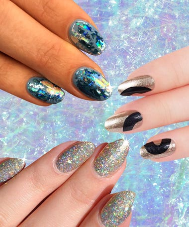 The Best Nail Art Insram Has To Offer For Party Season