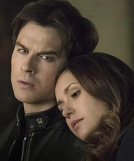 damon elena together vampire