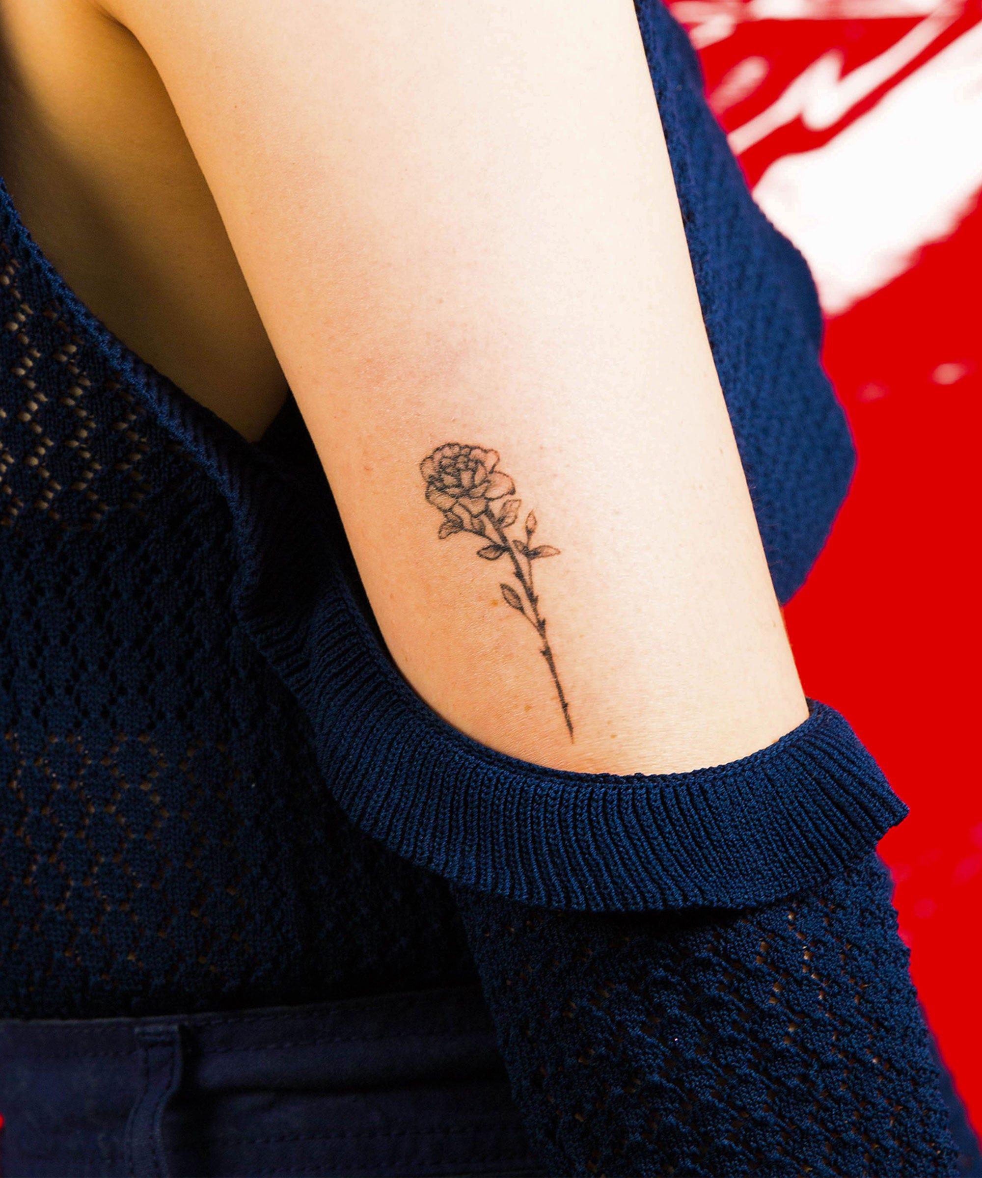 pretty flower tattoos ideas