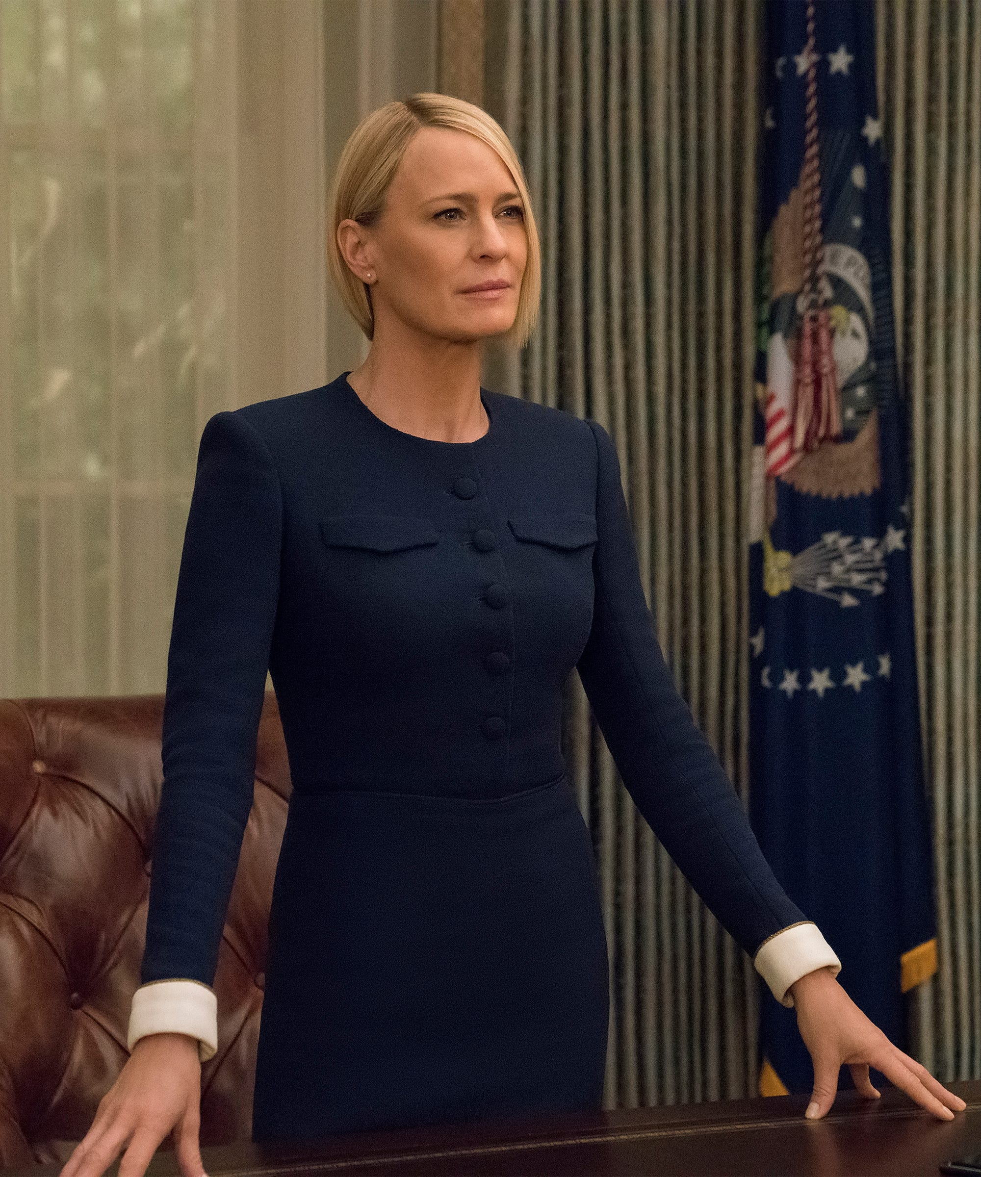 Claire Underwood Hair : claire, underwood, Inside, Robin, Wrights, House, Cards, Haircut