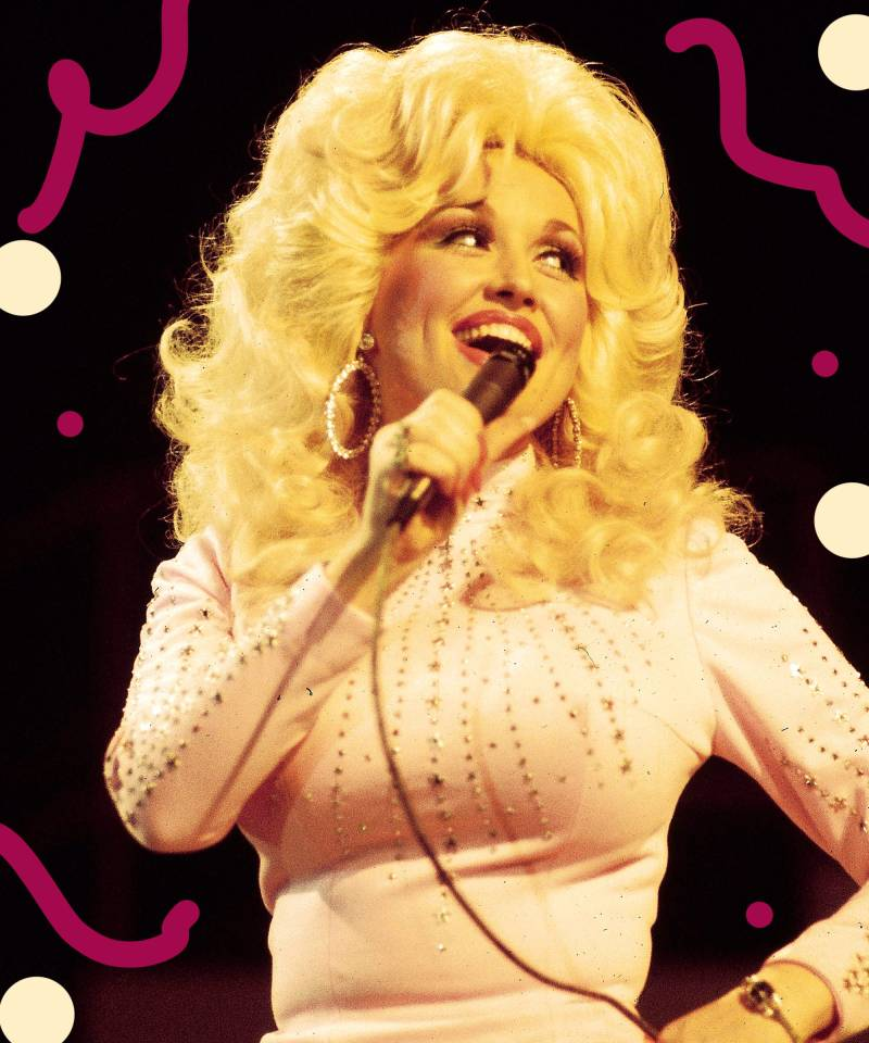 Dolly Parton Hair Evolution With Looks