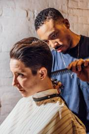 womens barber haircuts