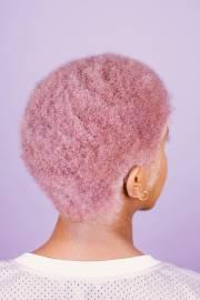 pastel hair tips - black women