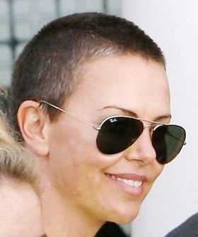 Charlize Theron Shaves Head For Mad Max