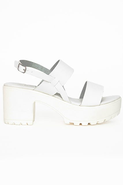 Stylish White Shoes, Summer Footwear