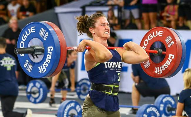 Fittest Woman On Earth Crossfit Games 2017 Tia Toomey
