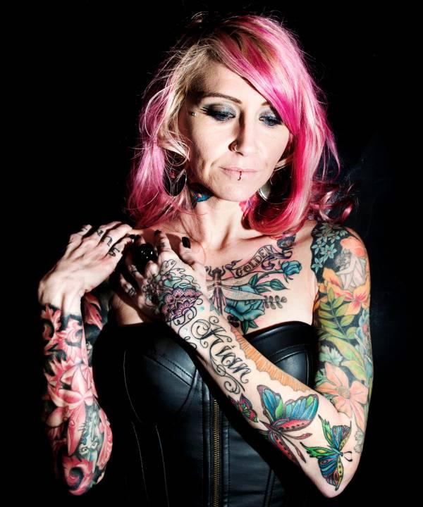 Ink Girls Tattoo Series