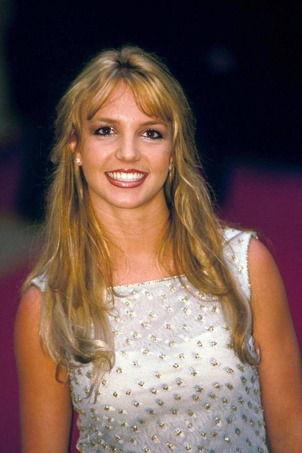 Britney Spears 90s Hair and Makeup