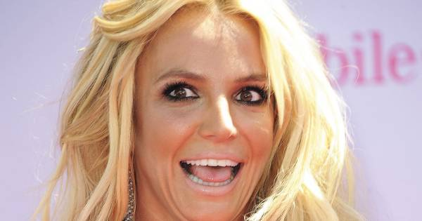 Britney Spears Funny Face Celebrity