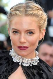celebrity plaited hairstyles