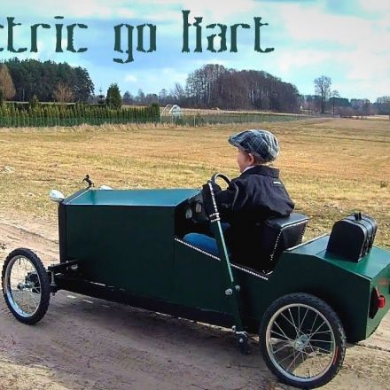 I made an electric car for my son