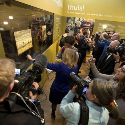 Stolen Van Gogh paintings return to Amsterdam after 14 years