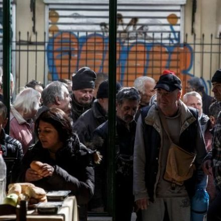 After seven years of bailouts, Greeks sink yet deeper in poverty