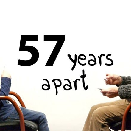 57 Years Apart - A Boy And a Man Talk About Life