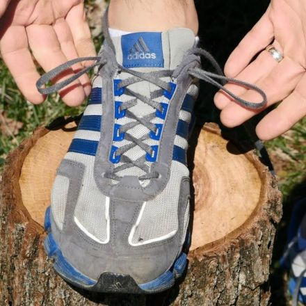 The mysterious extra holes at the top of you shoes explained