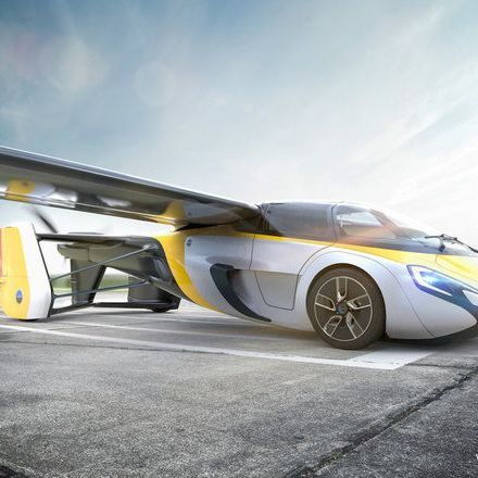Real flying car will be available for preorder this year.