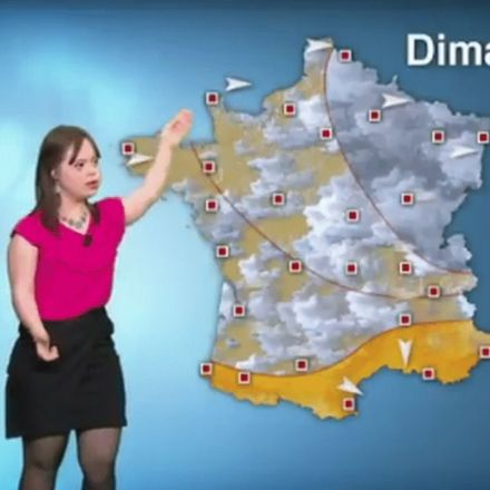 'I'm finally a weather girl': Woman with Down syndrome fulfills a lifelong dream