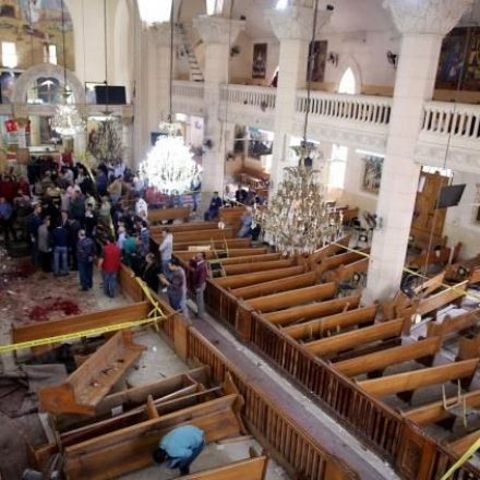 Church bombings in Egypt kills at least 43