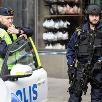 Swedish police arrest man over truck attack which killed four