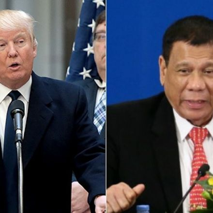 Philippines' Duterte on Trump's White House invitation: 'I'm tied up'