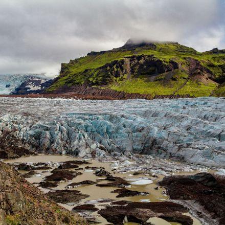 Hvannadalshnukur, Iceland.