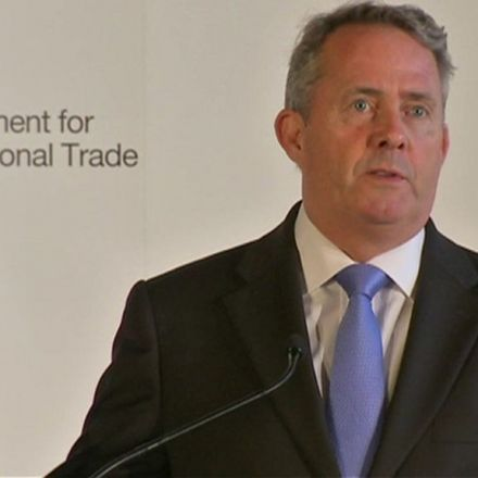 Liam Fox: Brexit is a 'golden opportunity'
