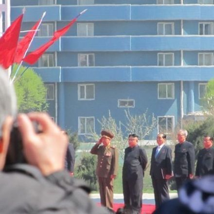 North Korea's 'big event'? The opening of a new street in Pyongyang