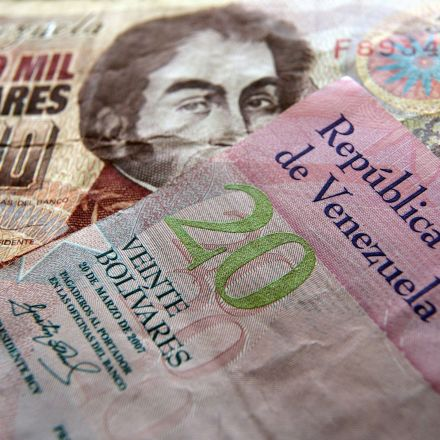 Venezuela's Currency Just Had the Biggest Monthly Collapse Ever