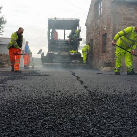 U.K. startup uses recycled plastic to build stronger roads