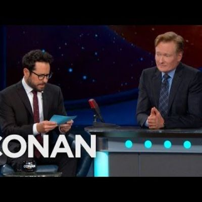 J.J. Abrams Gives Conan The Comic-Con Citizenship Test