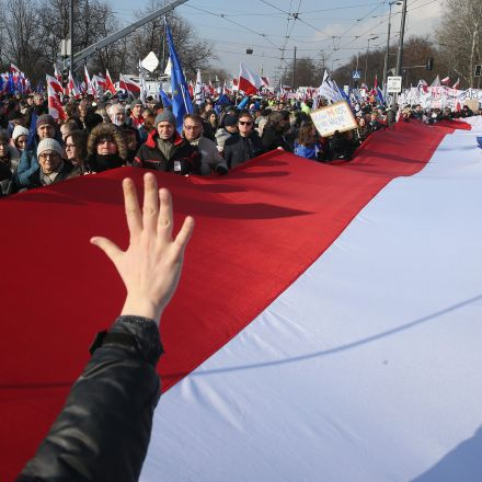 Warsaw chastised over constitutional crisis