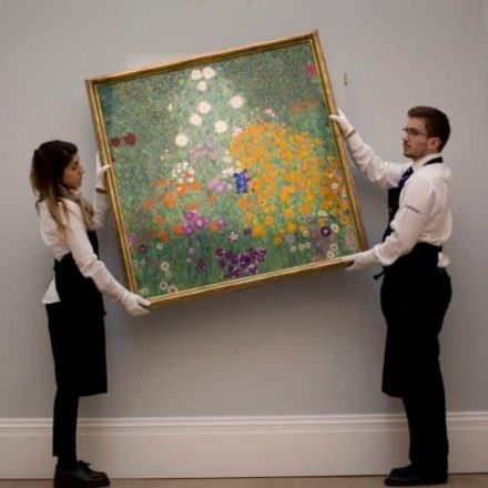Gustav Klimt painting sells for a record £47,971,250 at Sotheby's
