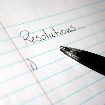 What is the ideal New Year's resolution for losing weight?