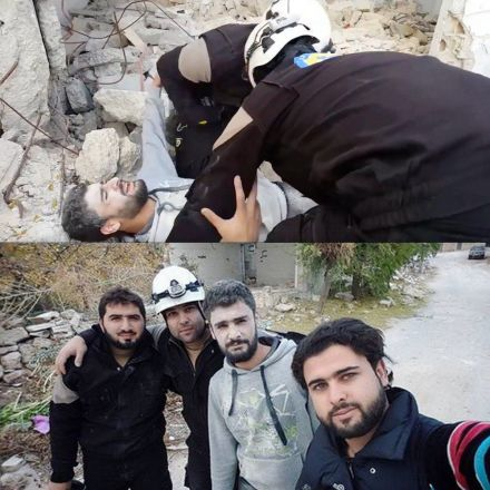 Video Shows White Helmets Staging Fake Rescue In Syria