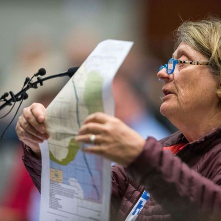 Supporters, opponents bring familiar arguments to 10-hour [Nebraska] public hearing on Keystone XL pipeline