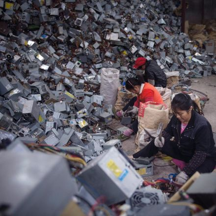 The e-waste mountains - in pictures